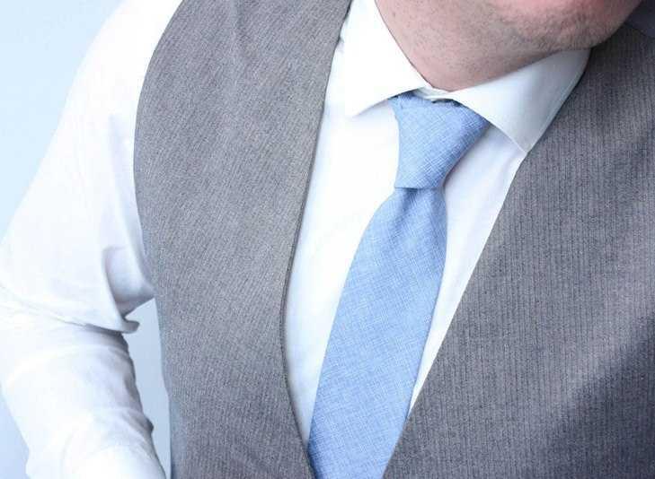 Corbatas Delgadas y Lisas